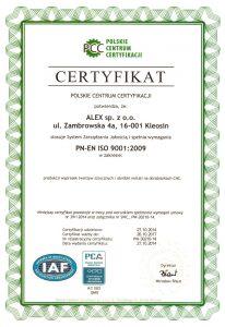 certyfikat-iso-9001-2009-alex